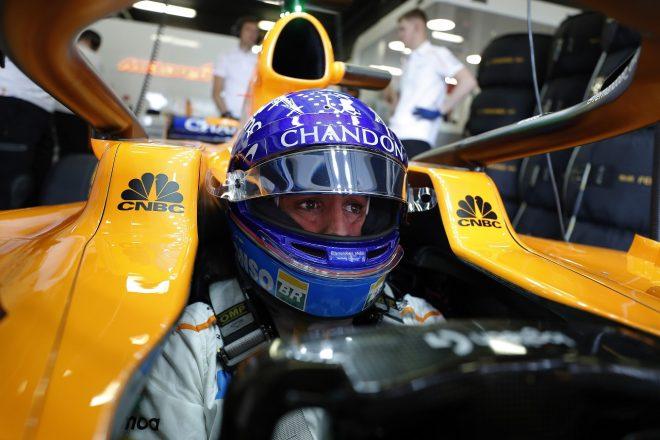 2018年F1スペインGP フェルナンド・アロンソ(マクラーレン)