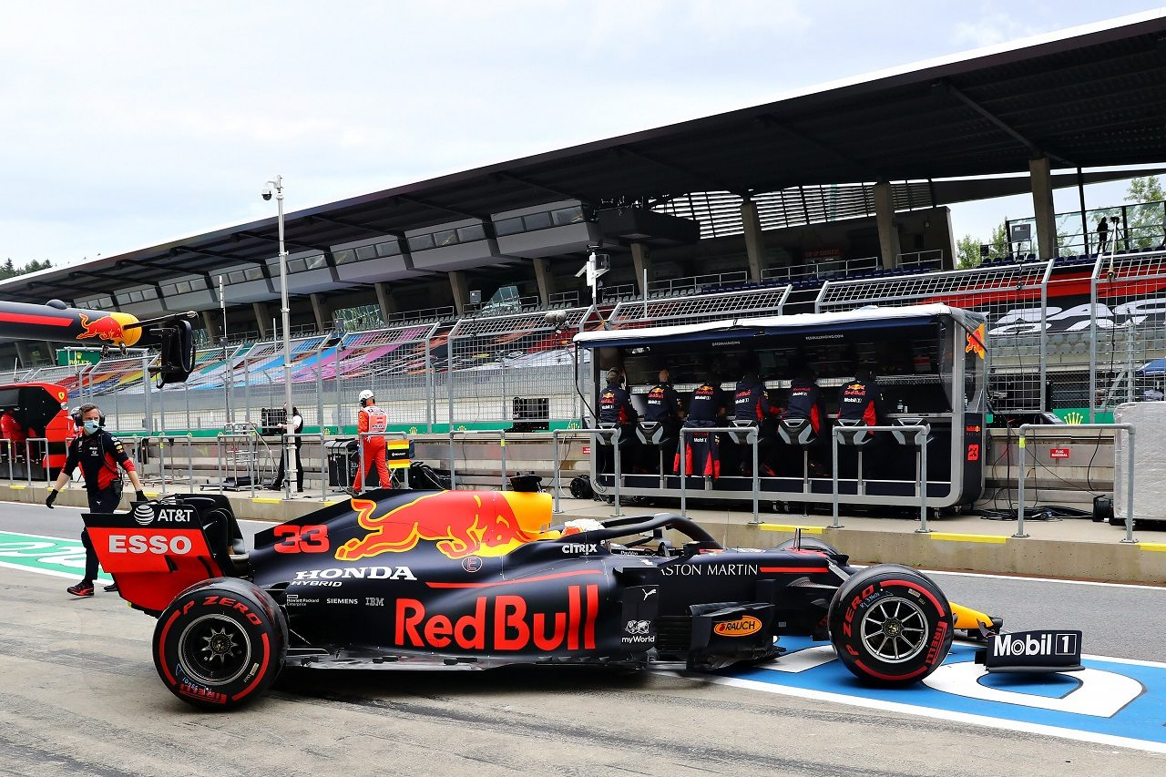 2020年F1第1戦オーストリアGP マックス・フェルスタッペン(レッドブル・ホンダ)