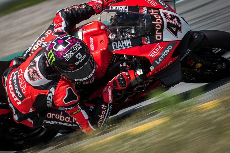 MotoGP | SBK:初開催のカタルーニャで2日間のテスト実施。初日はレディング、2日目はレイがトップタイムを記録