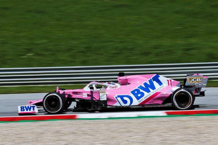 F1 | F1シュタイアーマルクGP FP1:レーシングポイントのペレスが首位。フェルスタッペンが僅差で2番手に続く