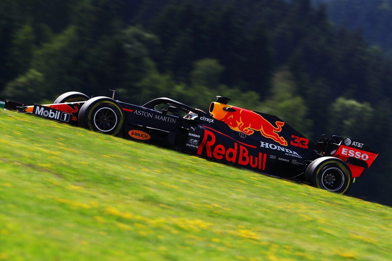 2020年F1第2戦シュタイアーマルクGP金曜 マックス・フェルスタッペン(レッドブル・ホンダ)