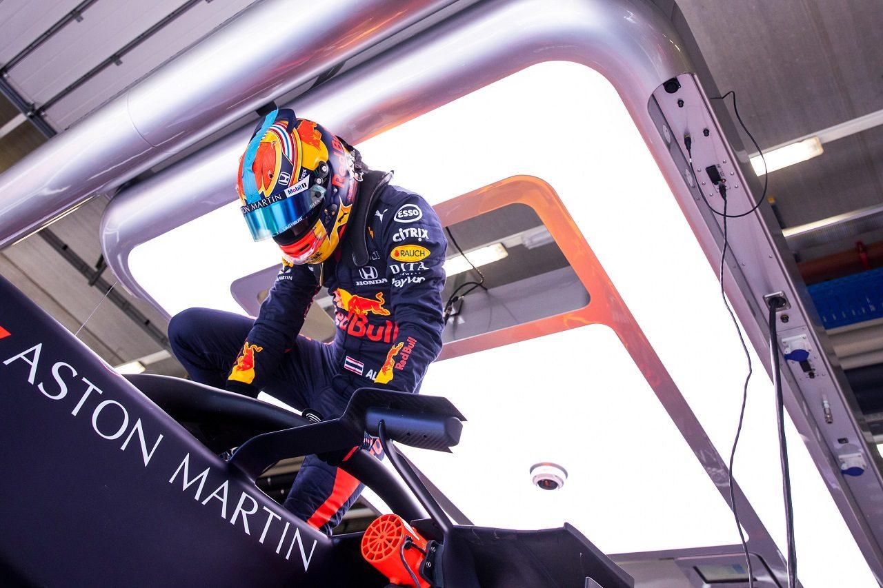 2020年F1第2戦シュタイアーマルクGP金曜 アレクサンダー・アルボン(レッドブル・ホンダ)