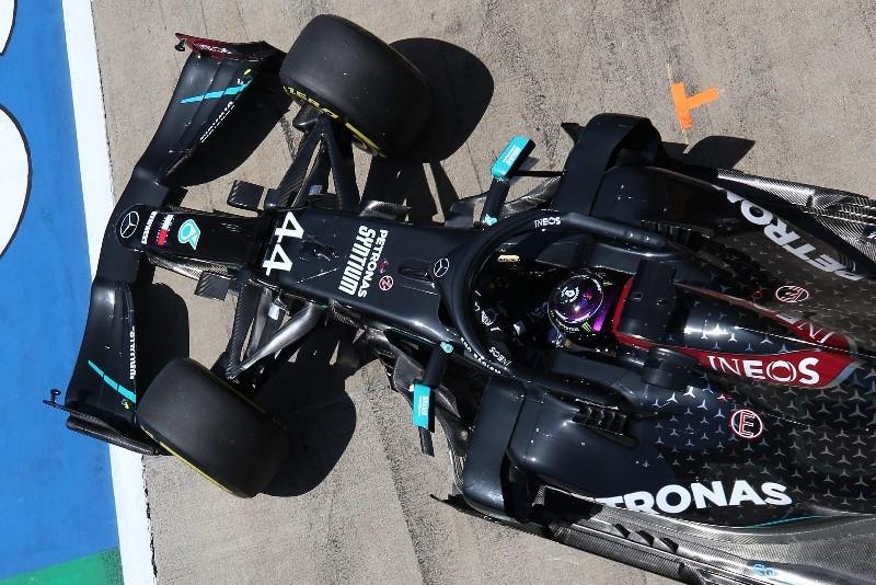 2020年F1第2戦シュタイアーマルクGP金曜 ルイス・ハミルトン(メルセデス)