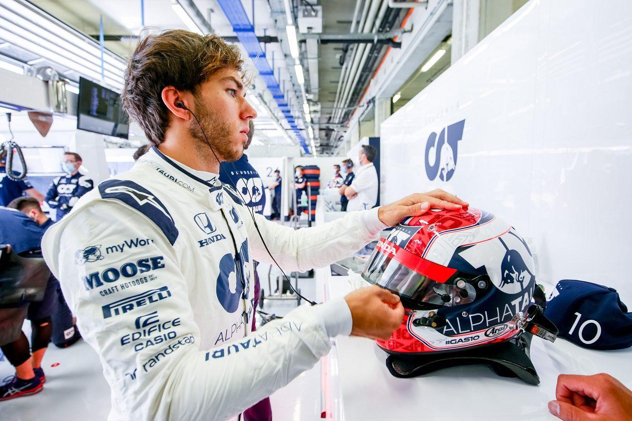 2020年F1第2戦シュタイアーマルクGP金曜 ピエール・ガスリー(アルファタウリ・ホンダ)