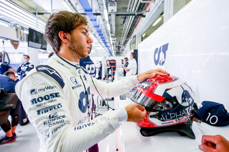 F1   ガスリー「開幕戦から一歩前進。ウエットの予選なら面白い展開になる」アルファタウリ・ホンダ F1シュタイアーマルクGP