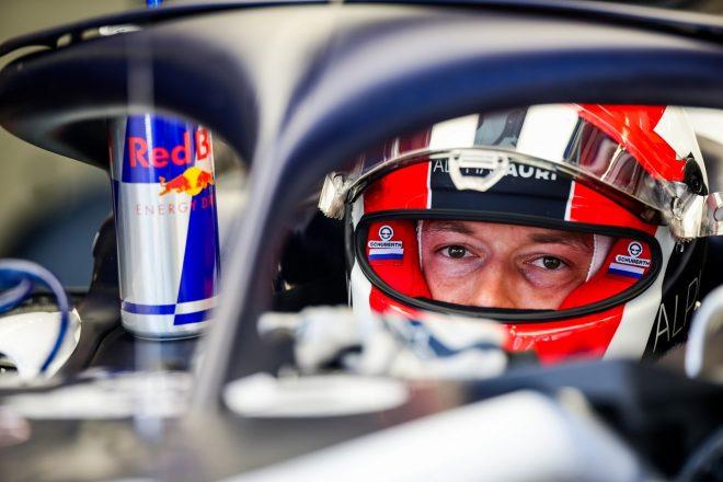 2020年F1第2戦シュタイアーマルクGP ダニール・クビアト(アルファタウリ・ホンダ)