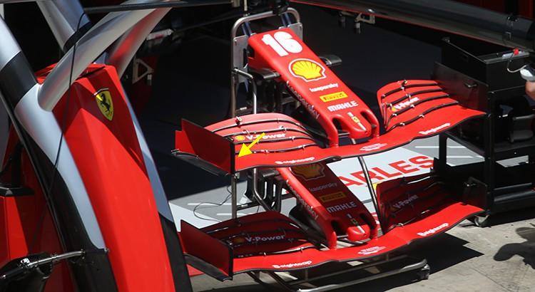 F1 | F1技術解説:挽回を図るべくF1第2戦に投入されたフェラーリの新型フロントウイング