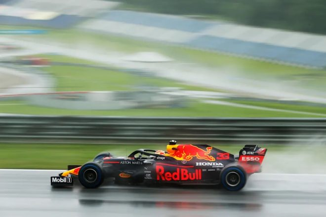 2020年F1第2戦シュタイアーマルクGP予選 マックス・フェルスタッペン(レッドブル・ホンダ)