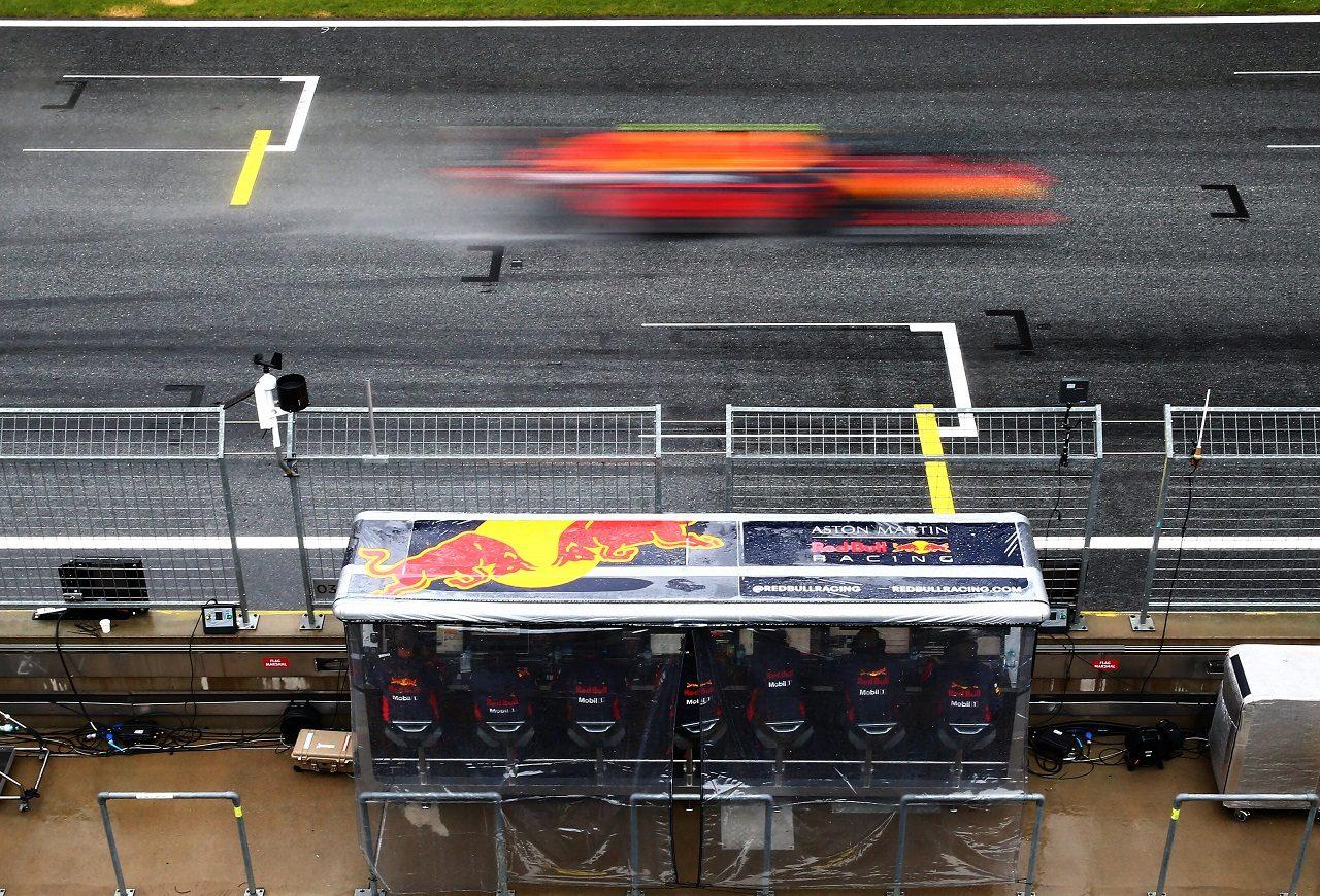 2020年F1第2戦シュタイアーマルクGP土曜 アレクサンダー・アルボン(レッドブル・ホンダ)