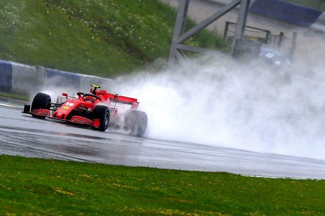 2020年F1第2戦シュタイアーマルクGP土曜 シャルル・ルクレール(フェラーリ)