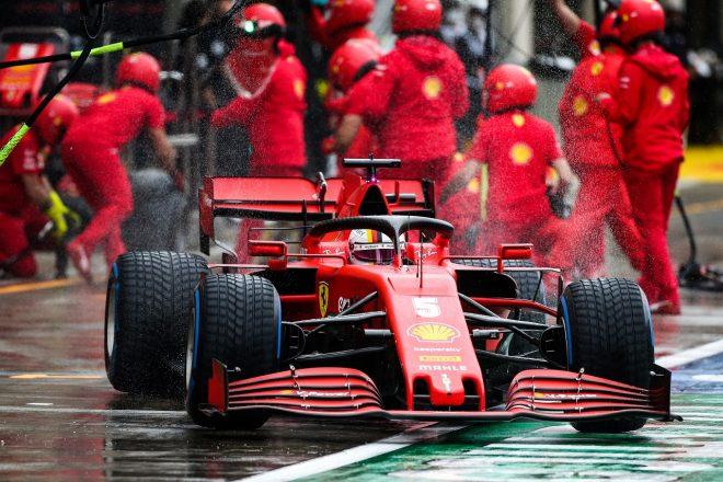 2020年F1第2戦シュタイアーマルクGP土曜 セバスチャン・ベッテル(フェラーリ)