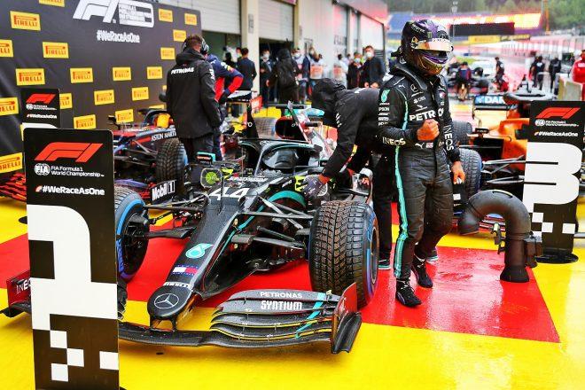 2020年F1第2戦シュタイアーマルクGP ルイス・ハミルトン(メルセデス)がポールポジションを獲得