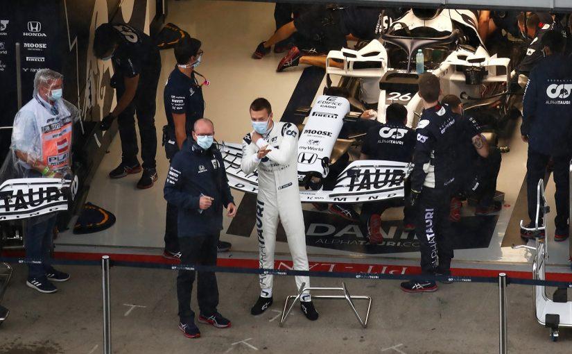 F1 | クビアトQ3進出ならず「ベストを尽くしたが期待どおりの結果を出せなかった」アルファタウリ・ホンダ【F1第2戦予選】