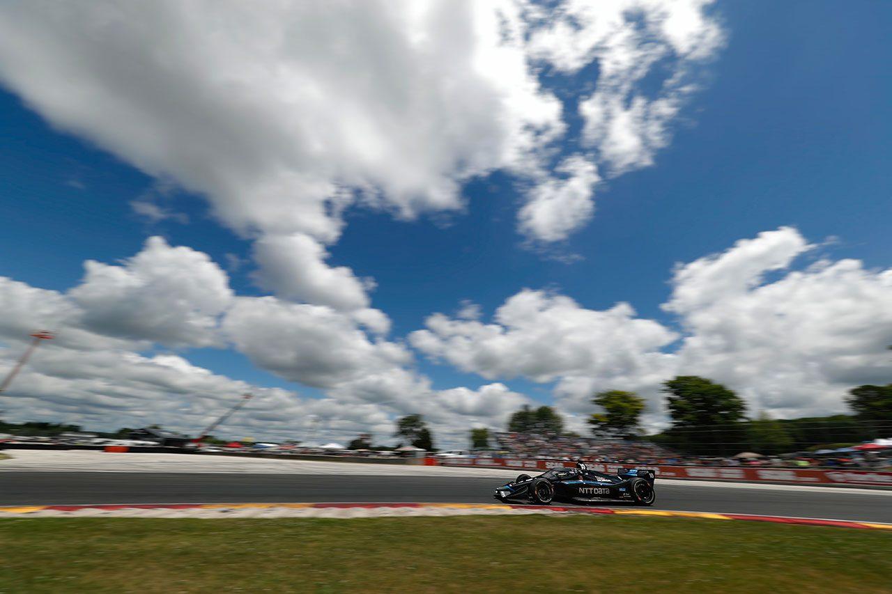 【順位結果】インディカー第4戦ロードアメリカ/ローゼンクヴィストが逆転で初優勝