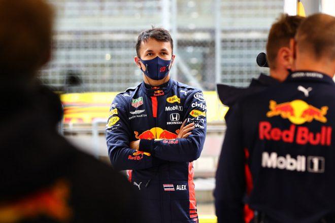 2020年F1第2戦シュタイアーマルクGP アレクサンダー・アルボン(レッドブル・ホンダ)