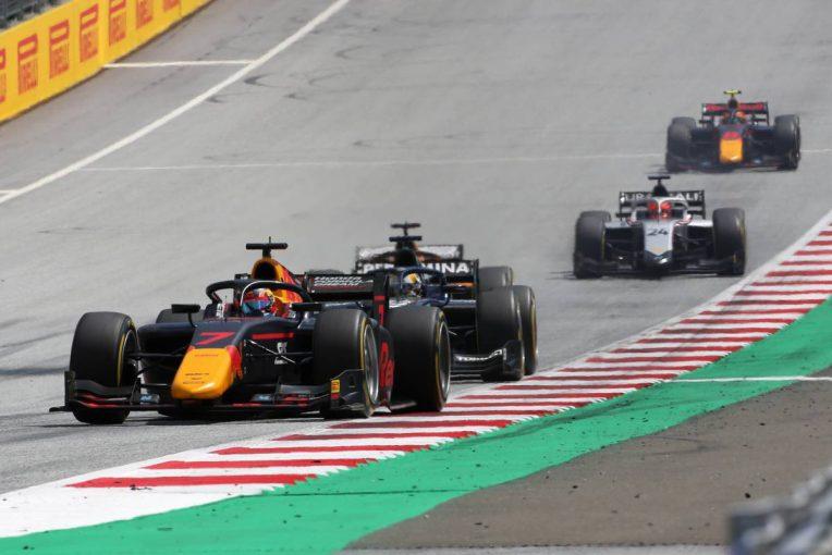 海外レース他 | 角田裕毅レース後インタビュー:「これから攻めていくというところだった」右リヤの駆動がかからずリタイア【FIA-F2第2戦レース2】