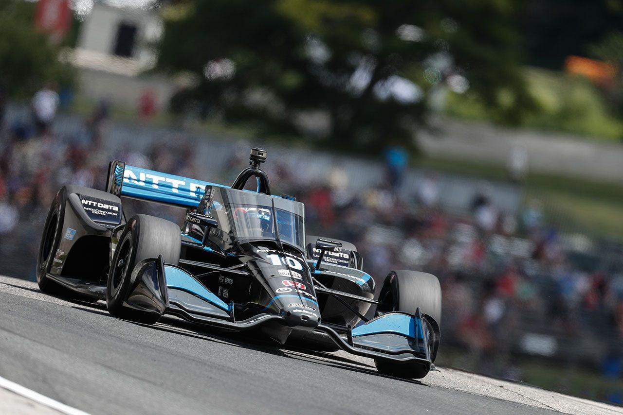 インディカー第4戦詳報:タイヤ選択が勝敗を決しローゼンクヴィストが逆転勝利。琢磨は粘り強く連続入賞