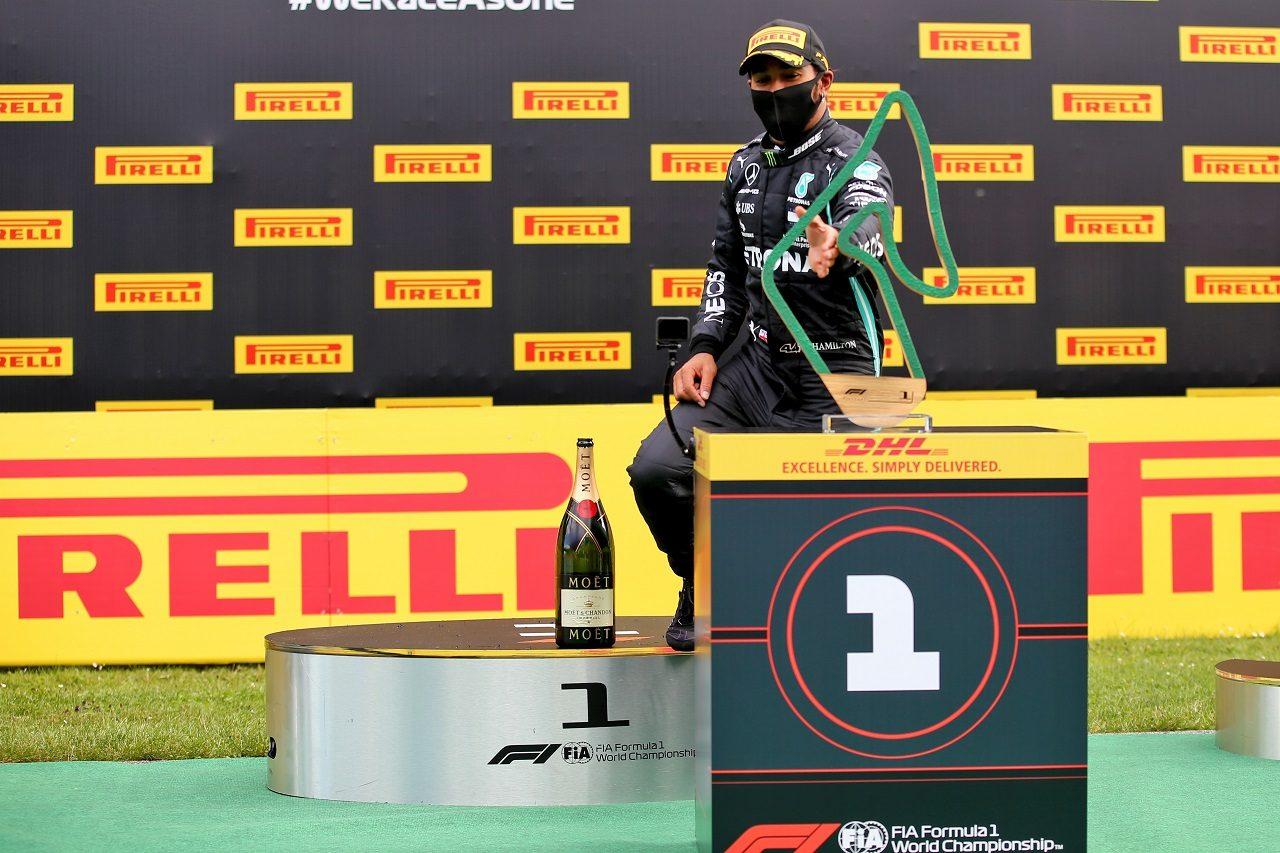 2020年F1第2戦シュタイアーマルクGP ルイス・ハミルトン(メルセデス)が優勝