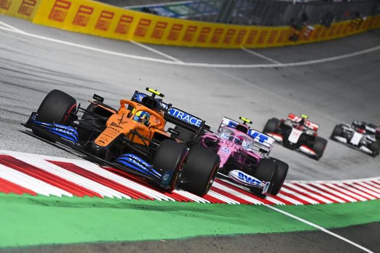 F1 | ノリス5位「積極的なアタックとオーバーテイクを楽しんだ」マクラーレン【F1第2戦決勝】