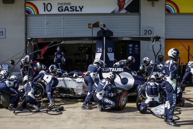 2020年F1第2戦シュタイアーマルクGP日曜 ピエール・ガスリー(アルファタウリ・ホンダ)