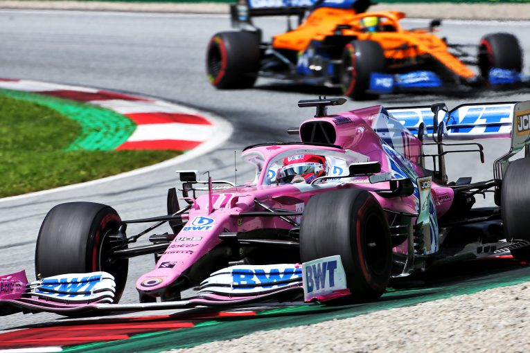 F1   ペレス6位「接触は残念だったが、重要なのはチームが進歩したこと」レーシングポイント【F1第2戦決勝】