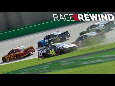 NASCAR:最終ラップは4ワイドの大接戦。フォードの新人カスターがカップシリーズ初優勝を飾る