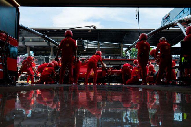 2020年F1第2戦シュタイアーマルクGP フェラーリF1