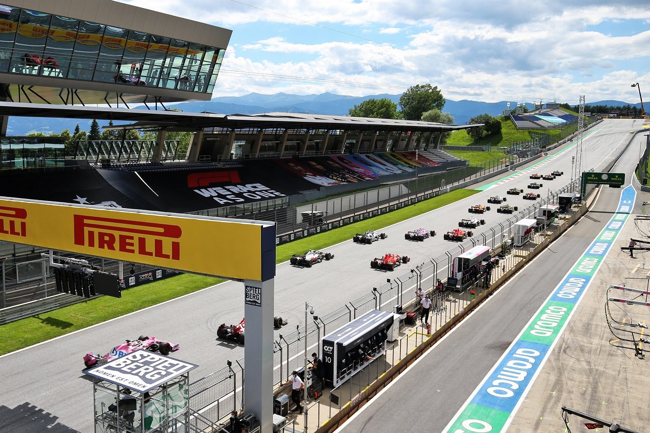2020年F1第2戦シュタイアーマルクGP決勝スタート