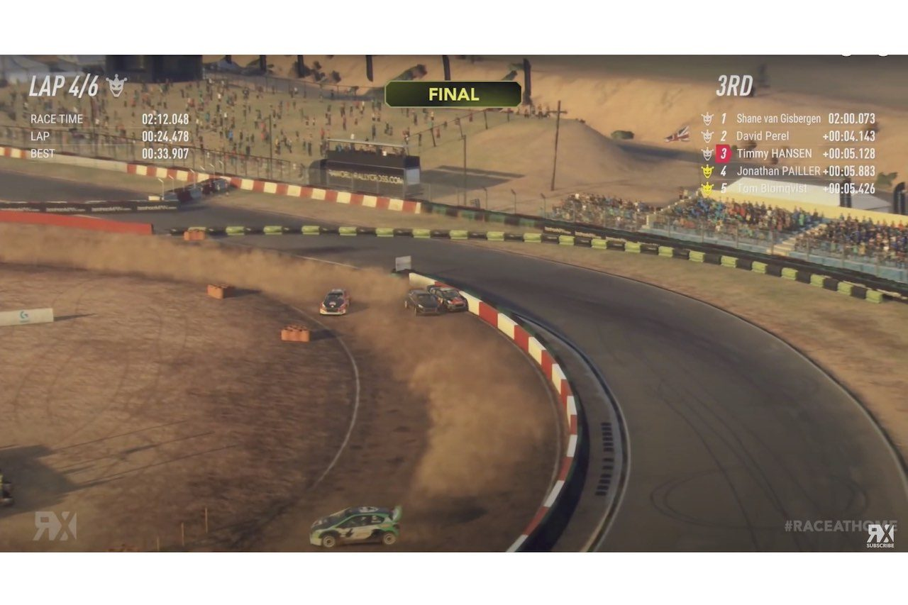 WorldRX:eシリーズ最終戦はSVG勝利も、世界王者ハンセンが仮想空間でもタイトル獲得