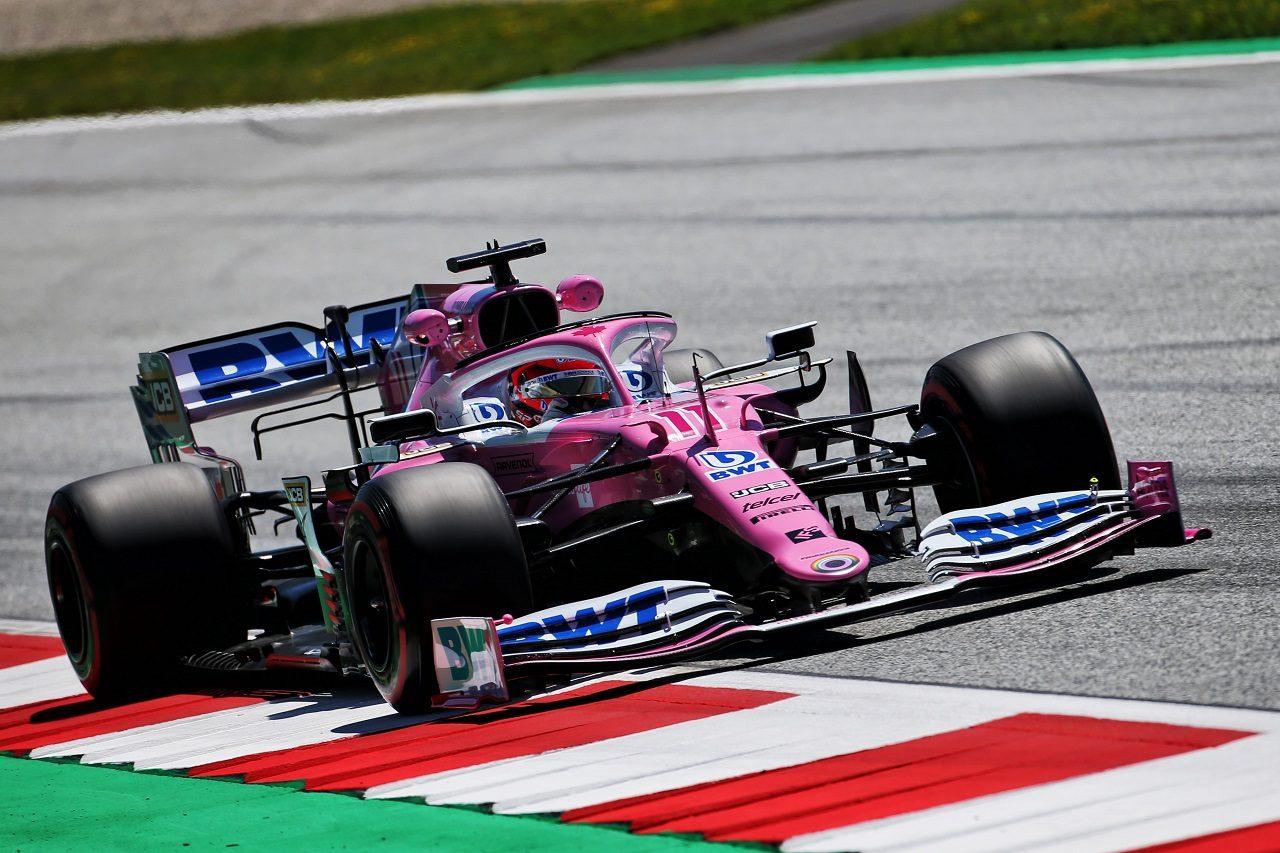 2020年F1第2戦シュタイアーマルクGP セルジオ・ペレス(レーシングポイント)