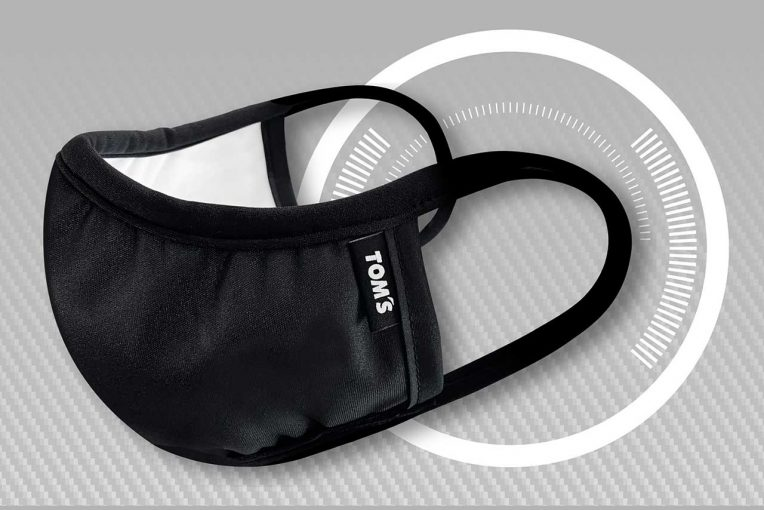 インフォメーション | トムス、ドライバーやピットクルー向けに開発したマスク『TOM'S TEAM MASK』の一般販売を開始