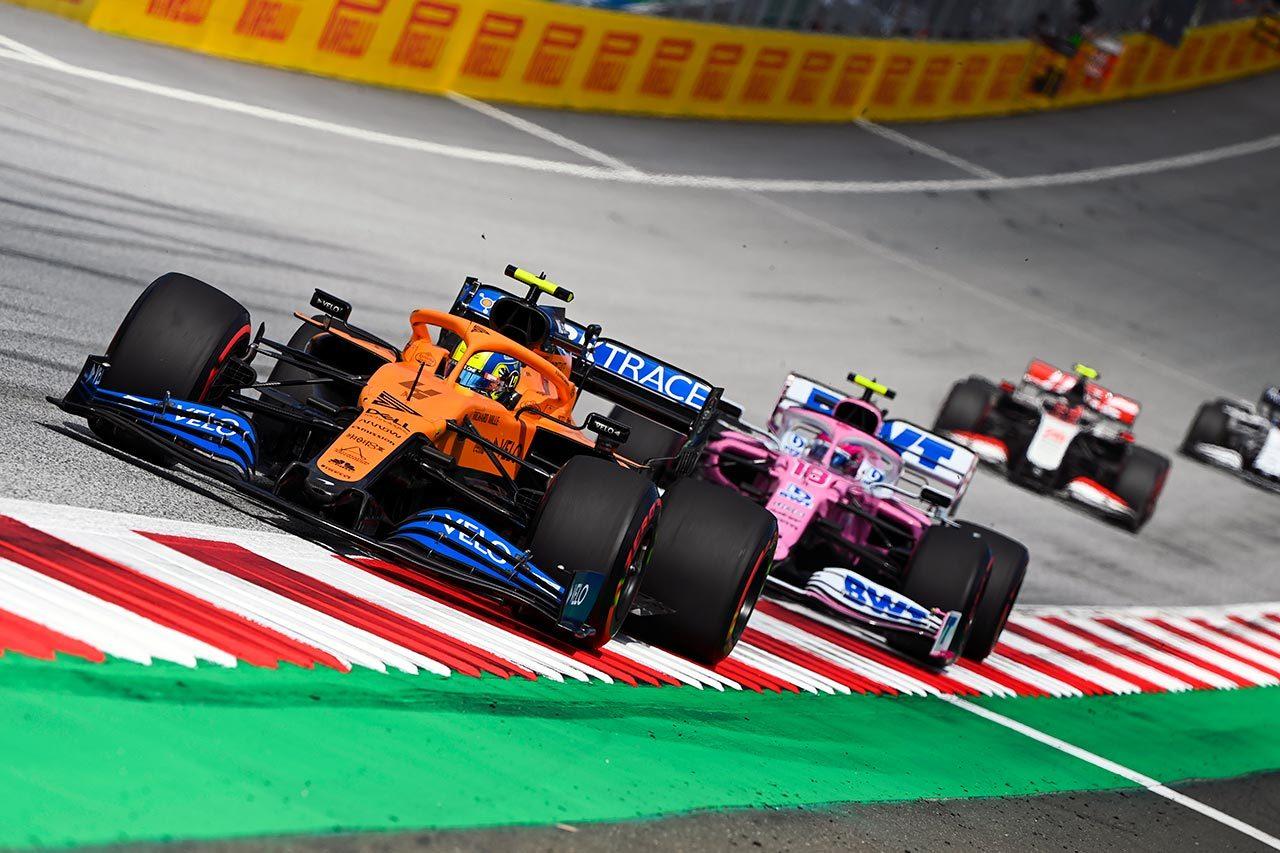 2020年F1第2戦ランド・ノリス(マクラーレン)