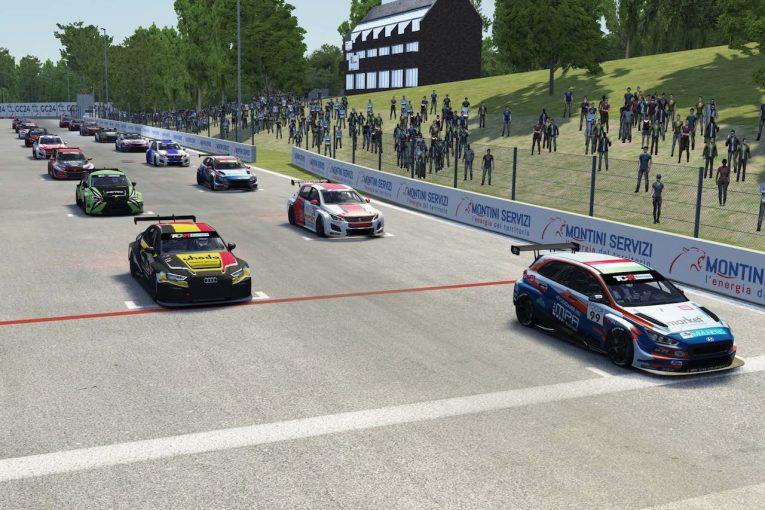 海外レース他 | 『TCRヨーロッパ SIM Racing』第6戦、ヒュンダイのナジーが勝利剥奪ペナルティを取り返す5勝目