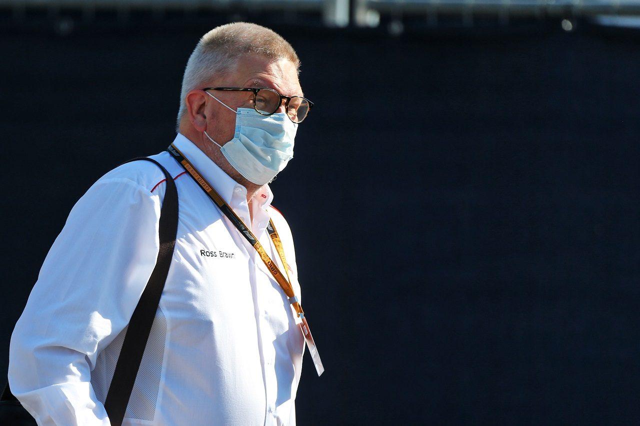 2020年F1第2戦シュタイアーマルクGP F1のモータースポーツ担当マネージングディレクターのロス・ブラウン