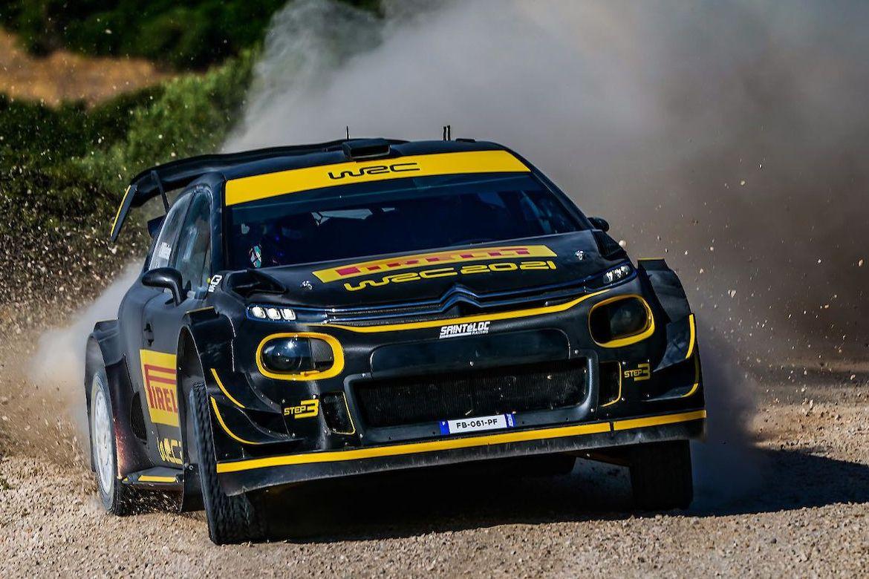 WRC:ピレリ、2021年から単独供給するラリータイヤをテスト。ミケルセンがシトロエンC3をドライブ
