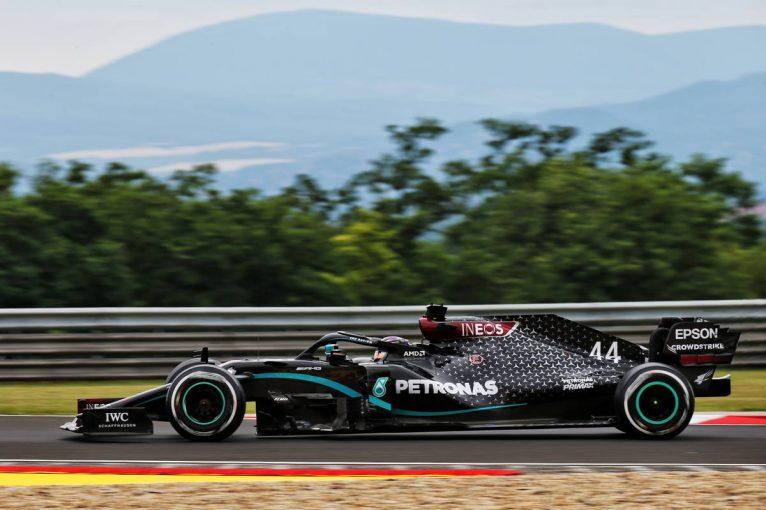 F1 | F1ハンガリーGP FP1:メルセデスがワンツー、ペレス3番手。アルファタウリ・ホンダのガスリーは走れず