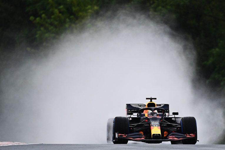F1 | ホンダ田辺TD「雨で十分走れず。FP3でセットアップを煮詰める」ガスリーのパーツ交換は予防措置【F1第3戦金曜】