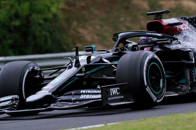 2020年F1第3戦ハンガリーGP金曜 ルイス・ハミルトン(メルセデス)