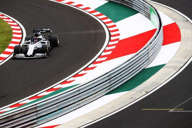 2020年F1第3戦ハンガリーGP金曜 ダニール・クビアト(アルファタウリ・ホンダ)