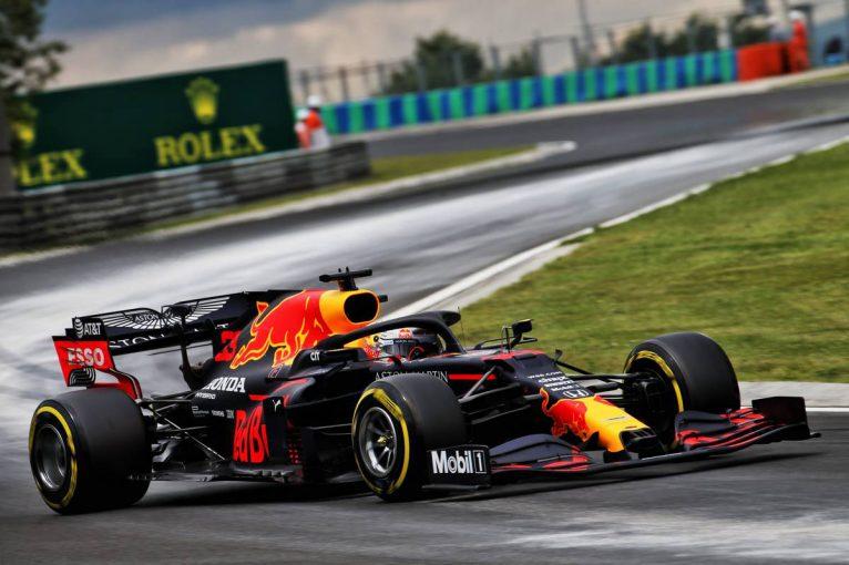 F1 | レッドブル・ホンダのフェルスタッペンは6番手【タイム結果】F1第3戦ハンガリーGPフリー走行3回目