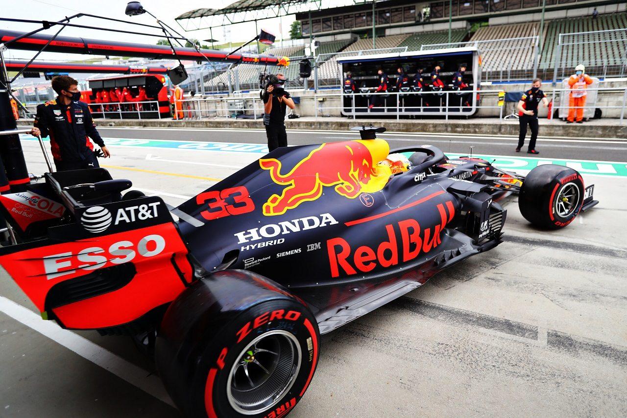 2020年F1第3戦ハンガリーGP土曜 マックス・フェルスタッペン(レッドブル・ホンダ)
