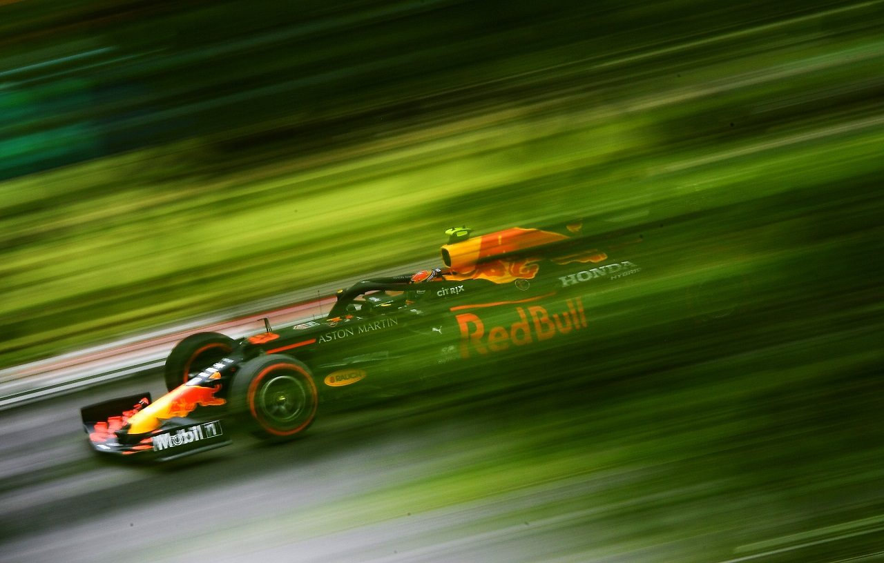 2020年F1第3戦ハンガリーGP土曜 アレクサンダー・アルボン(レッドブル・ホンダ)