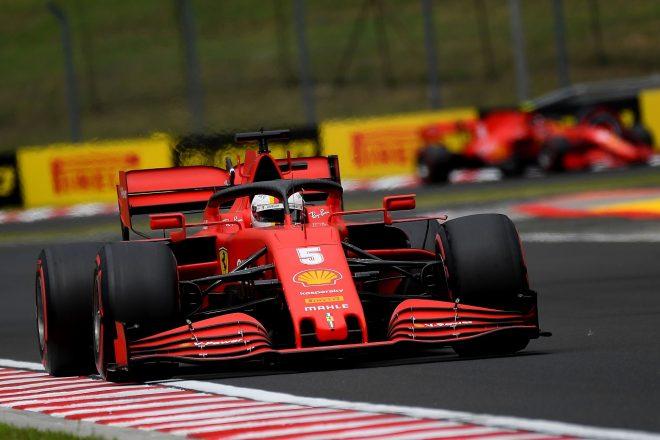 2020年F1第3戦ハンガリーGP土曜 セバスチャン・ベッテル(フェラーリ)