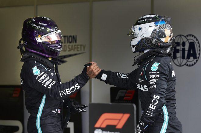 2020年F1第3戦ハンガリーGP ルイス・ハミルトン(メルセデス)がポールポジション、バルテリ・ボッタス(メルセデス)が予選2番手を獲得