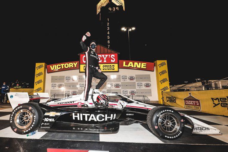 海外レース他   インディカー第6戦アイオワ詳報:ニューガーデンが1年ぶりの完勝。琢磨は失速