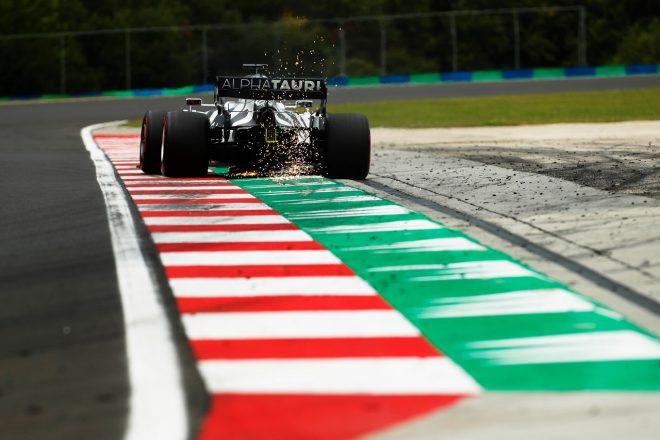 2020年F1第3戦ハンガリーGP ダニール・クビアト(アルファタウリ・ホンダ)