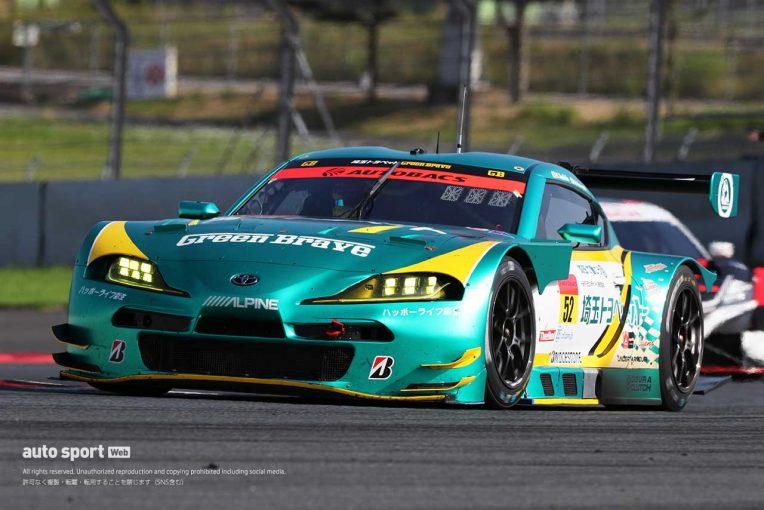 スーパーGT   埼玉トヨペットGreen Braveが初優勝。GT300もGRスープラがデビューウインを飾る【第1戦富士決勝】