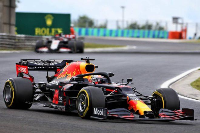 2020年F1第3戦ハンガリーGP マックス・フェルスタッペン(レッドブル・ホンダ)