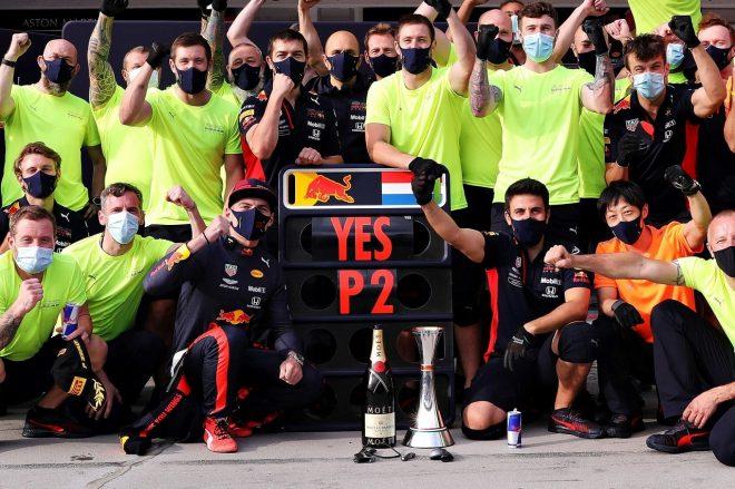 2020年F1第3戦ハンガリーGP マックス・フェルスタッペン(レッドブル・ホンダ)が2位を獲得