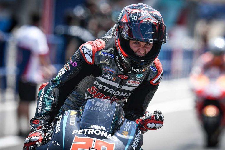 MotoGP | 初優勝のクアルタラロ「本当に素晴らしく、同時に不思議な気持ちでもあった」/MotoGPスペインGP決勝会見
